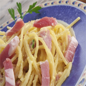 Salsa Carbonara con Bacon